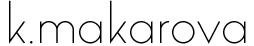 k.makarova Designermode Stuttgart
